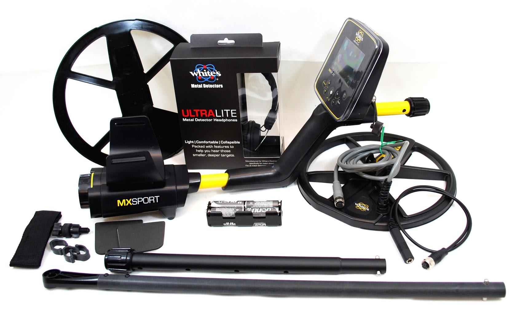 Piezas del detector de metales MX Sport de White's