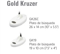 platos incluidos detector de metales Makro Gold Kruzer