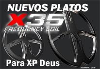 Platos X35 para XP Deus
