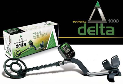 Detector de metales Delta 4000