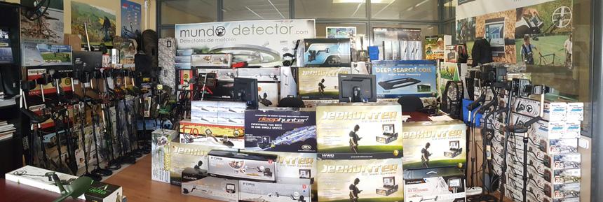 Tienda de detectores de metales en Madrid