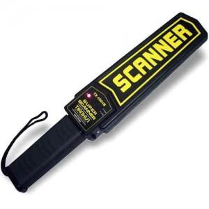 Detector de metales de seguridad Super Scanner
