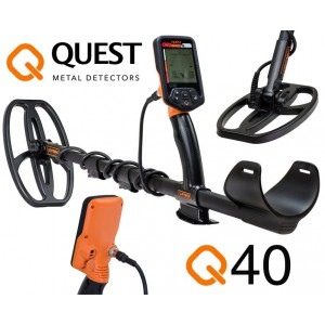 Detector de metales Quest 40