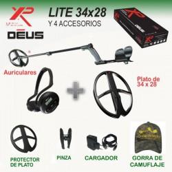 Detector metales XP Deus LITE 34x28 con auriculares