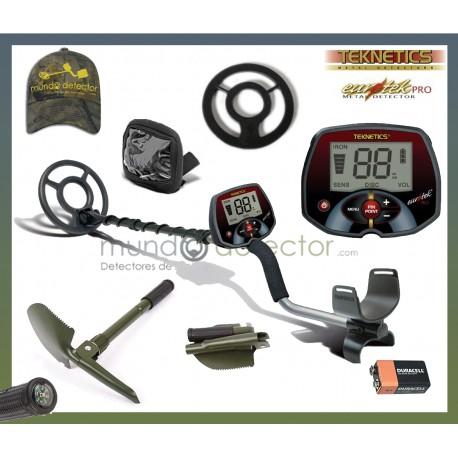 "Packs del detector Teknetics Eurotek Pro 8"""