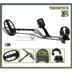 Packs del detector Teknetics G2 con plato DD eliptico de 27 cm (11 pulgadas)
