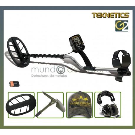 "Packs del detector Teknetics G2 con plato DD eliptico de 27 cm (11"")"