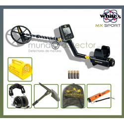 Packs del detector White's MX Sport