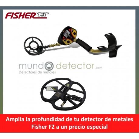 Fisher F2 + plato de gran profundidad