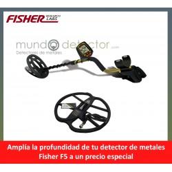Fisher F5 + plato de gran profundidad