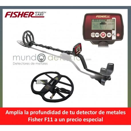 Fisher F11 + plato de gran profundidad