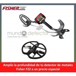 Fisher F22 + plato de gran profundidad