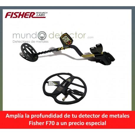 Fisher F70 + plato de gran profundidad