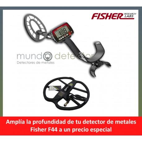 Fisher F44 + plato de gran profundidad