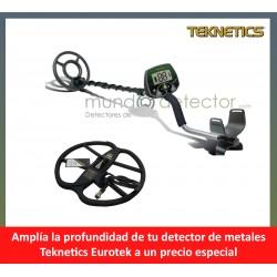 Teknetics EUROTEK + plato de gran profundidad