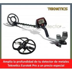 Teknetics EUROTEK PRO + plato de gran profundidad