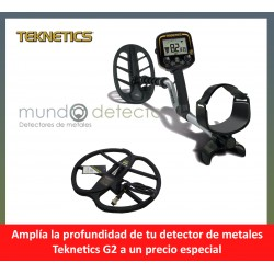 Teknetics G2 + plato de gran profundidad