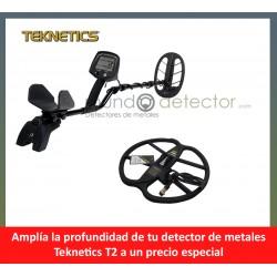 Teknetics T2 + plato de gran profundidad