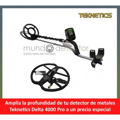 Teknetics Delta 4000+ plato de gran profundidad