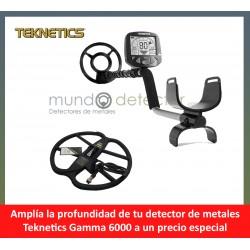 Teknetics Gamma 6000 + plato de gran profundidad