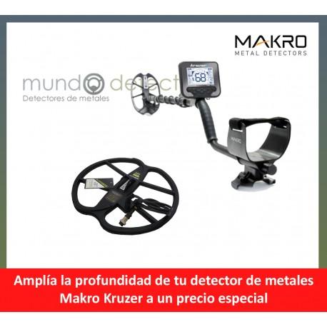 Makro Kruzer + plato de gran profundidad