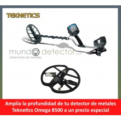 Teknetics Omega 8500 + plato de gran profundidad