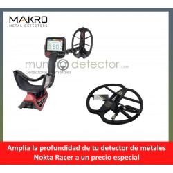 Nokta Racer + plato de gran profundidad