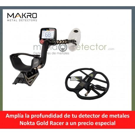 Nokta Gold Racer + plato de gran profundidad