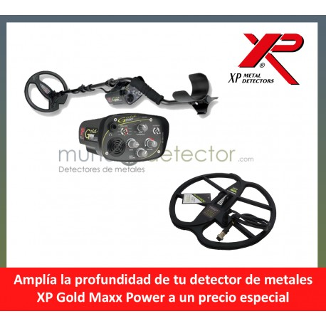 XP Goldmaxx Power + plato de gran profundidad