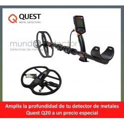 Quest Q20 + plato de gran profundidad
