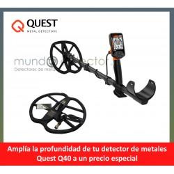 Quest Q40 + plato de gran profundidad
