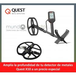 Quest X10 + plato de gran profundidad