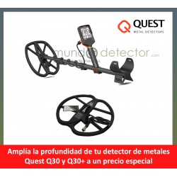 Quest Q30 y Q30+ + plato de gran profundidad