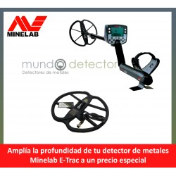 Minelab E-trac + plato de gran profundidad