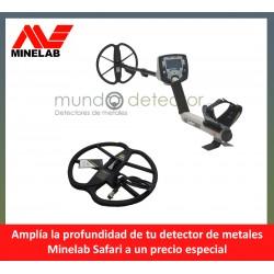 Minelab Safari + plato de gran profundidad