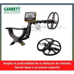 Garrett Ace Apex + plato de gran profundidad