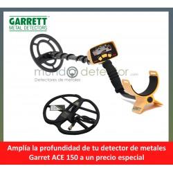 Garrett Ace 150 + plato de gran profundidad