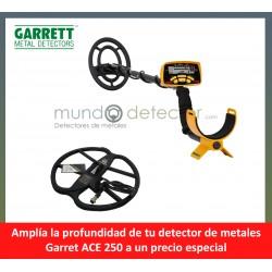 Garrett Ace 250 + plato de gran profundidad