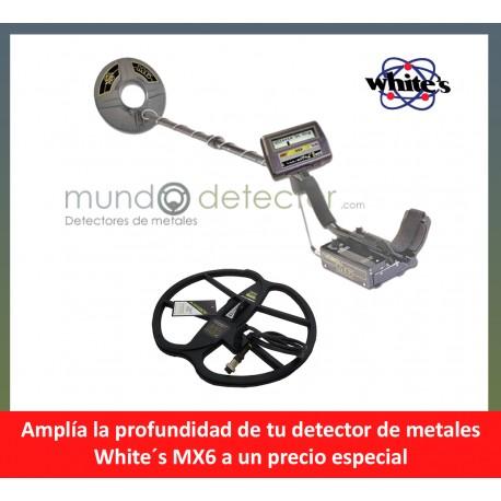 White´s MX6 + plato de gran profundidad