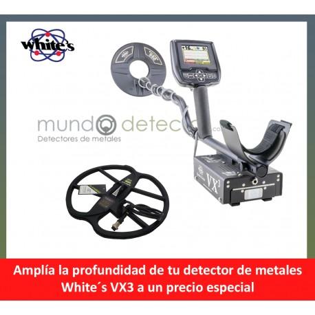 White´s VX3 + plato de gran profundidad