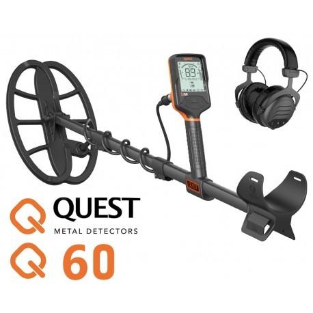 Detector de metales Quest Q60 con Auriculares