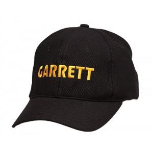 Gorra GARRETT negra con Logo amarillo