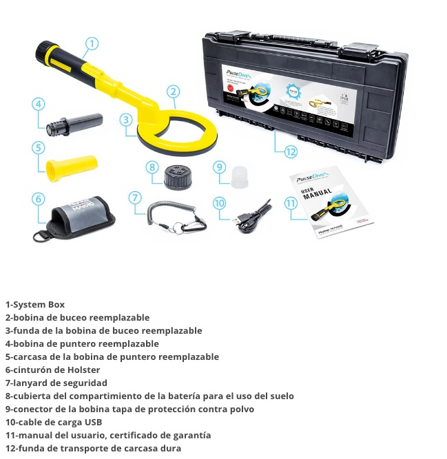 Maletin-detector-de-metales-submarino-scuba-pulsedive-makro
