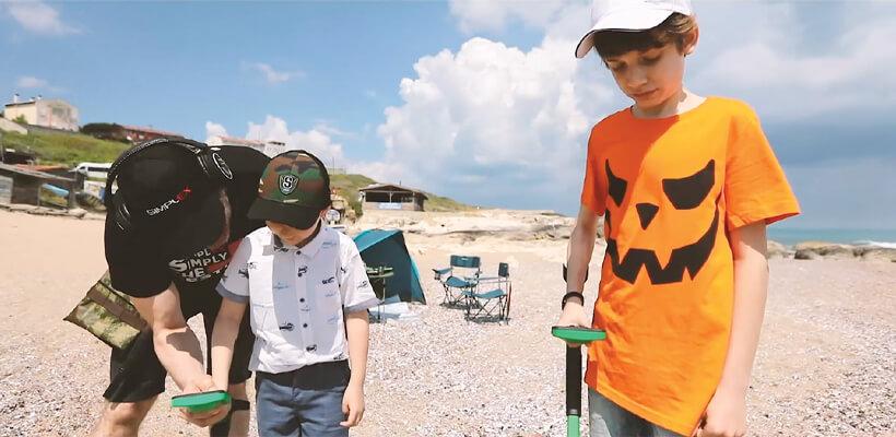 Detector de metales Mini Hoard para niños
