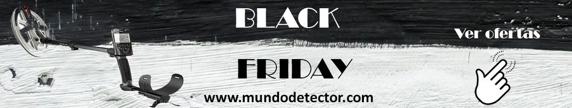 Oferta detectores de metales, platos y accesorios Black Friday